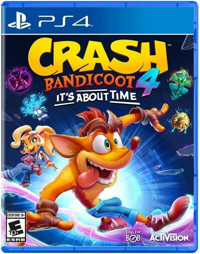 Crash Bandicoot 4 Boxart