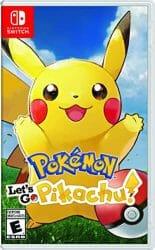Pokemon Let's Go Pikachu Boxart