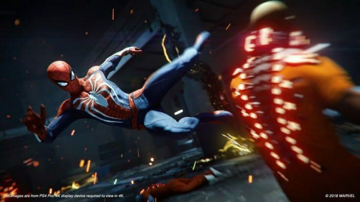 Spiderman PS4 Screenshot 1