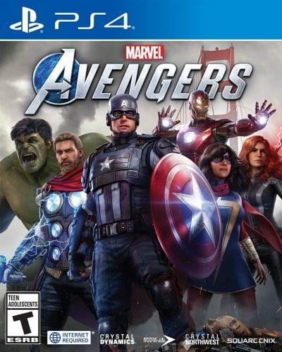 Marvel's Avengers Boxart PS4