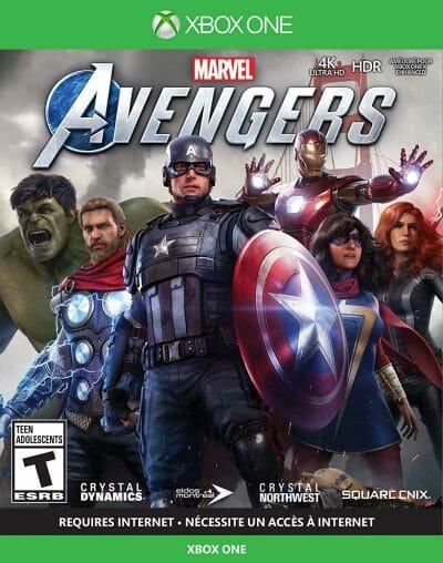 Marvel's Avengers Boxart Xbox One