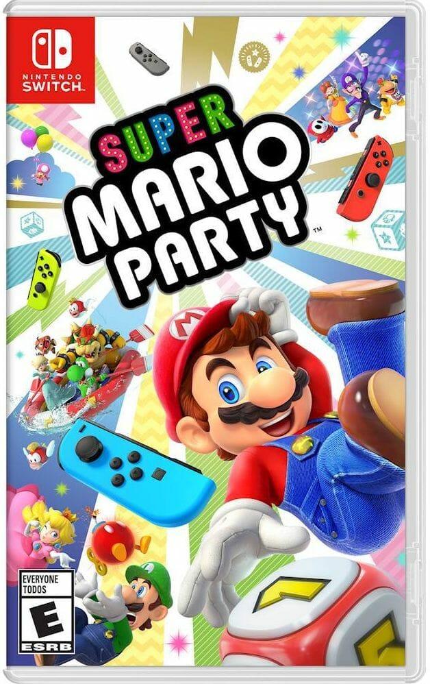 Super Mario Party Boxart