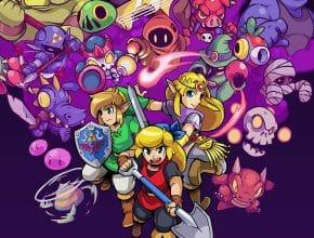 Cadence of Hyrule Crypt of the Necrodancer Featuring the Legend of Zelda Featured Écran Partagé