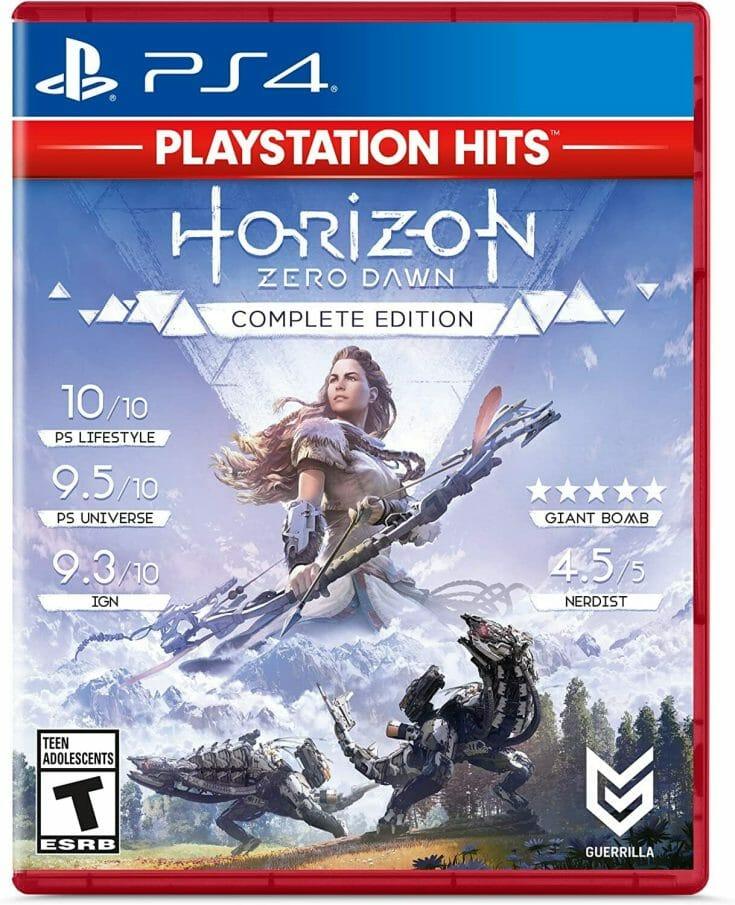 Horizon Zero Dawn Boxart Écran Partagé