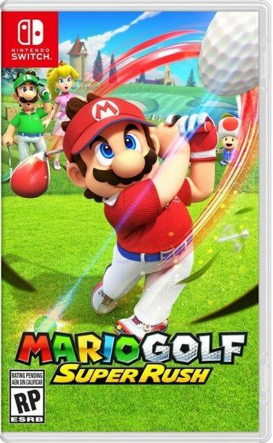 Mario Golf Super Rush Boxart Écran Partagé