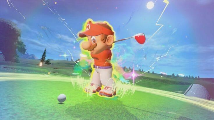 Mario Golf Super Rush Screenshot 5 Écran Partagé