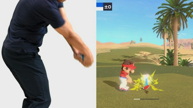 Mario Golf Super Rush Screenshot 6 Écran Partagé