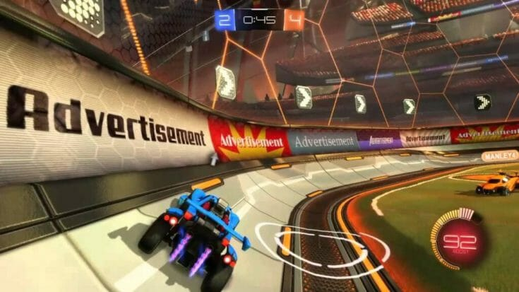 Rocket League Screenshot 1 Écran Partagé