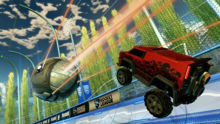 Rocket League Screenshot 3 Écran Partagé
