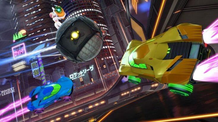 Rocket League Screenshot 4 Écran Partagé