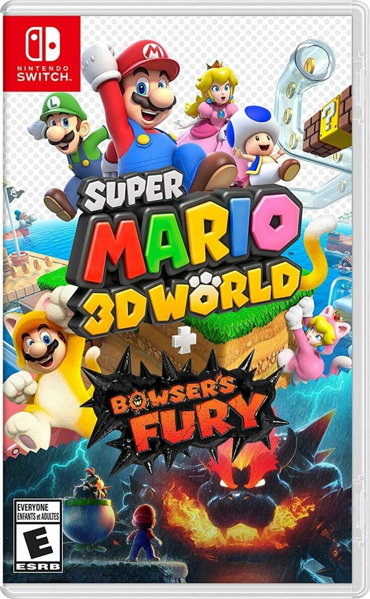 Super Mario 3D World Boxart Écran Partagé