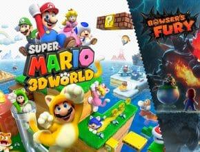 Super Mario 3D World Featured Écran Partagé