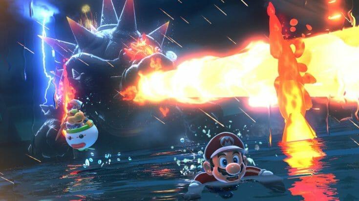 Super Mario 3D World Screenshot 4 Écran Partagé