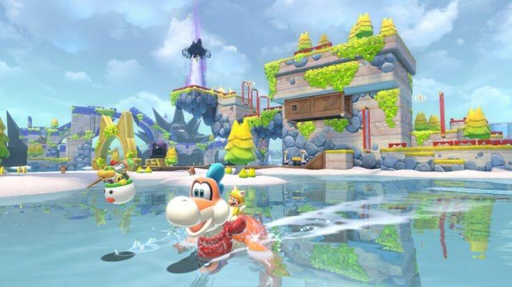 Super Mario 3D World Screenshot 5 Écran Partagé