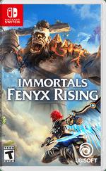 Immortals Fenyx Rising Boxart Switch Écran Partagé