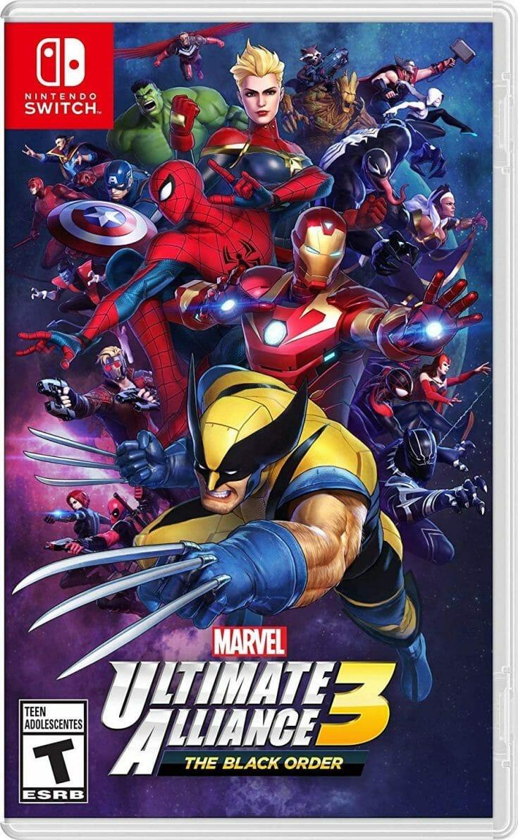 Marvel Ultimate Alliance 3 Boxart Écran Partagé