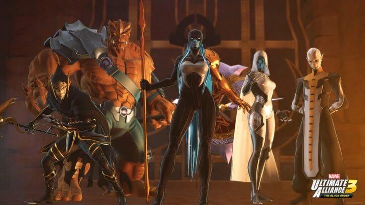 Marvel Ultimate Alliance 3 Screenshot 2 Écran Partagé