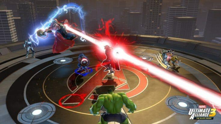 Marvel Ultimate Alliance 3 Screenshot 3 Écran Partagé
