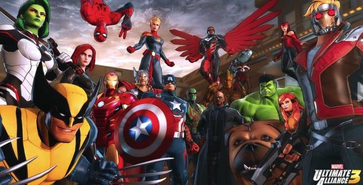 Marvel Ultimate Alliance 3 Screenshot 5 Écran Partagé