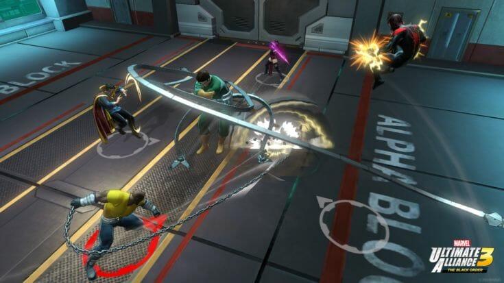 Marvel Ultimate Alliance 3 Screenshot 6 Écran Partagé
