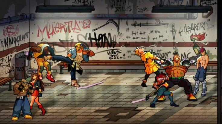 Streets of Rage 4 Screenshot 1 Écran Partagé
