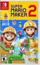 Super Mario Maker 2 Boxart Écran Partagé
