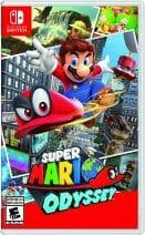 Super Mario Odyssey Boxart Écran Partagé