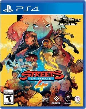 Streets of Rage 4 Boxart PS4 Écran Partagé