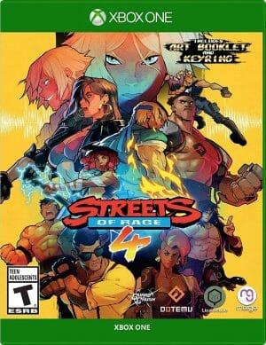Streets of Rage 4 Boxart Xbox Écran Partagé