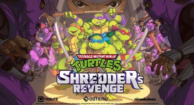 TMNT Shredder Revenge Featured Écran Partagé