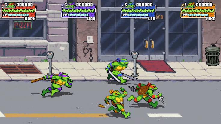 TMNT Shredder Revenge Screenshot 4 Écran Partagé