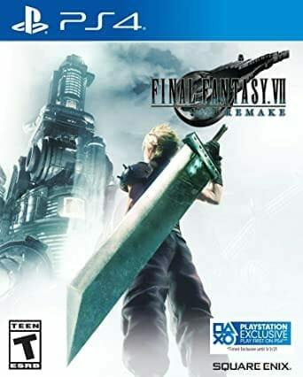 Final Fantasy VII Remake Boxart Écran Partagé