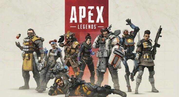 Personnages Apex Legends - Bannière Écran Partagé