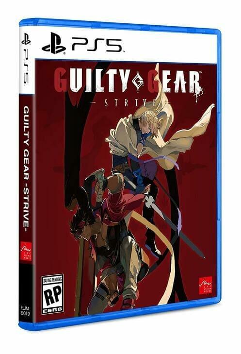 Guilty Gear Strive Boxart PS5 Écran Partagé