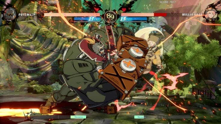Guilty Gear Strive Screenshot 3 Écran Partagé