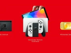 Qu'est-ce que la Nintendo Switch OLED Featured Écran Partagé