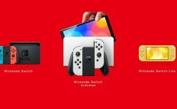 Qu'est-ce que la Nintedno Switch OLED Featured Écran Partagé