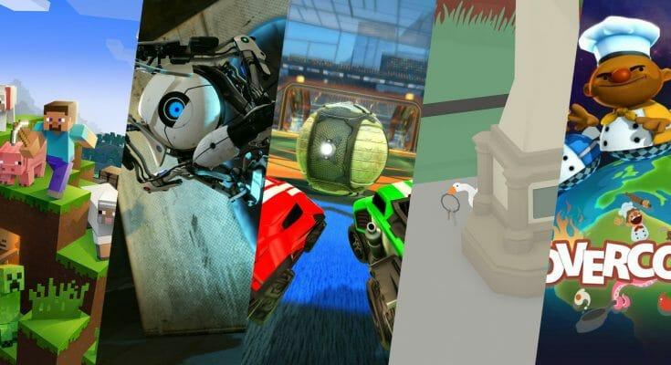 5 jeux pour jeunes images de couverture