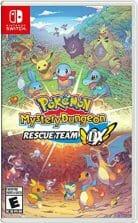 Pokémon Mystery Dungeon Rescue Team DX Boxart Ecran Partage