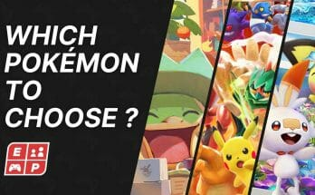 Which Pokemon to choose Ecran Partage