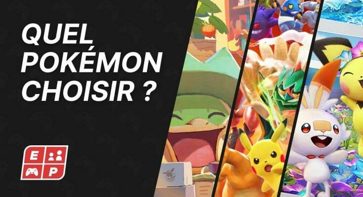 Quel Pokemon Choisir Ecran Partage