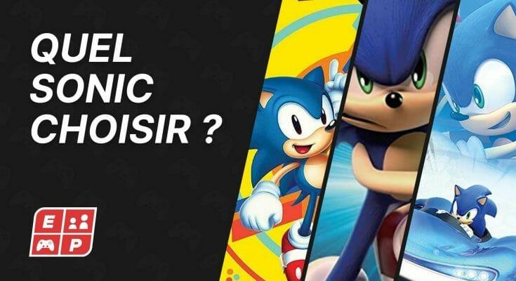 Quel Sonic Choisir Ecran Partage