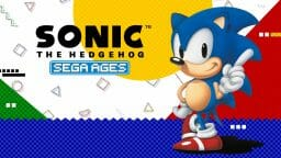 SEGA Ages Sonic 1 Boxart Ecran Partage