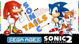 SEGA Ages Sonic 2 Boxart Ecran Partage