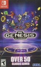 SEGA Genesis Classics Boxart Ecran Partage