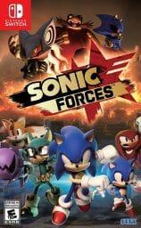 Sonic Forces Boxart Ecran Partage