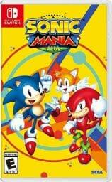 Sonic Mania Plus Switch Boxart Ecran Partage