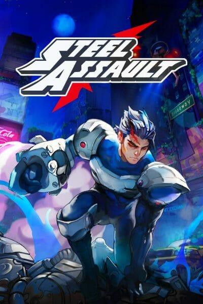 Steel Assault Boxart Ecran Partage