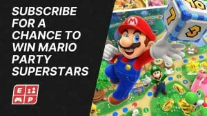 Subscribe for a chance to win MARIO PARTY SUPERSTARS