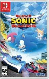 Team Sonic Racing Boxart Ecran Partage